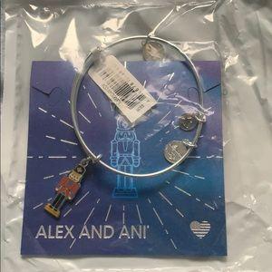 Alex and Ani Nutcracker bracelet NWT